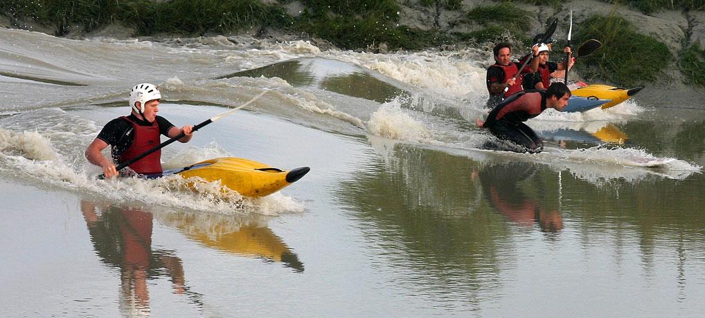 kayakloisirs: surf du Mascaret sur la Sélune