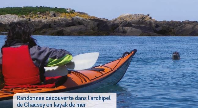 Balade en kayak à Chausey